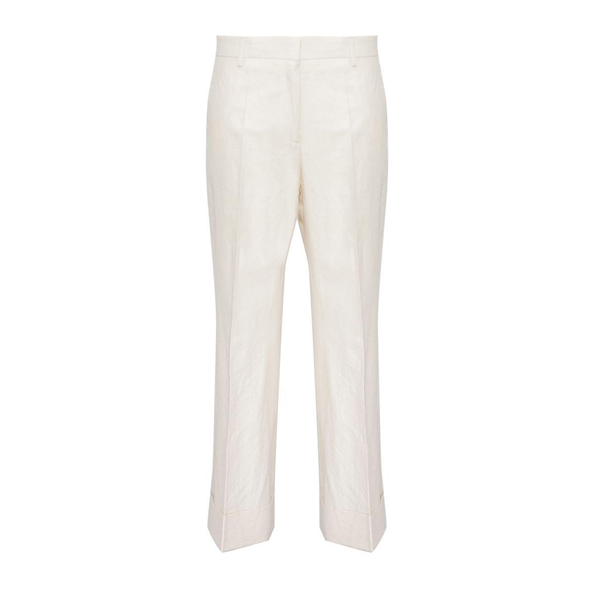Dries Van Noten Wide Leg Trousers