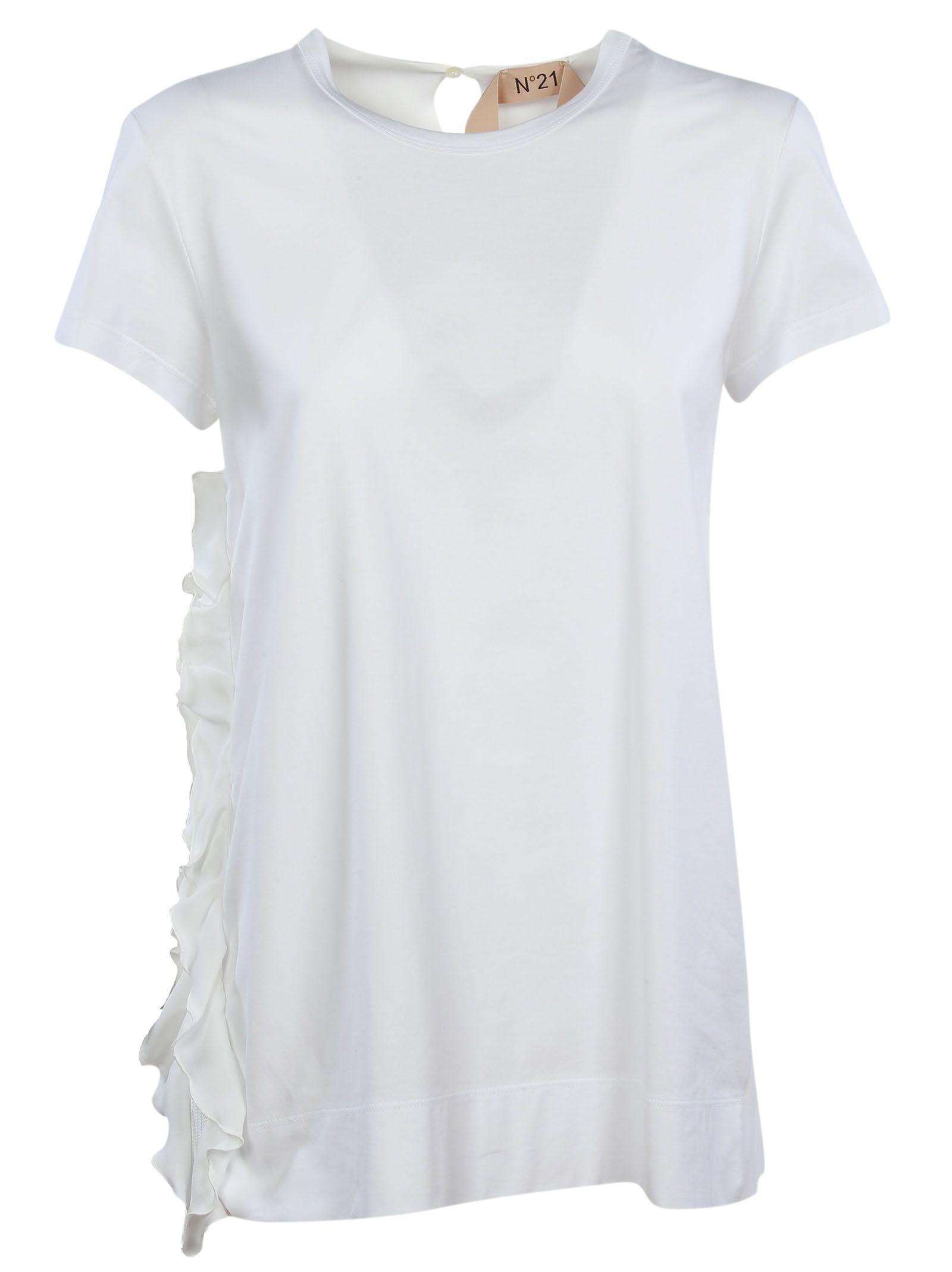 N°21 Ruffled T-Shirt