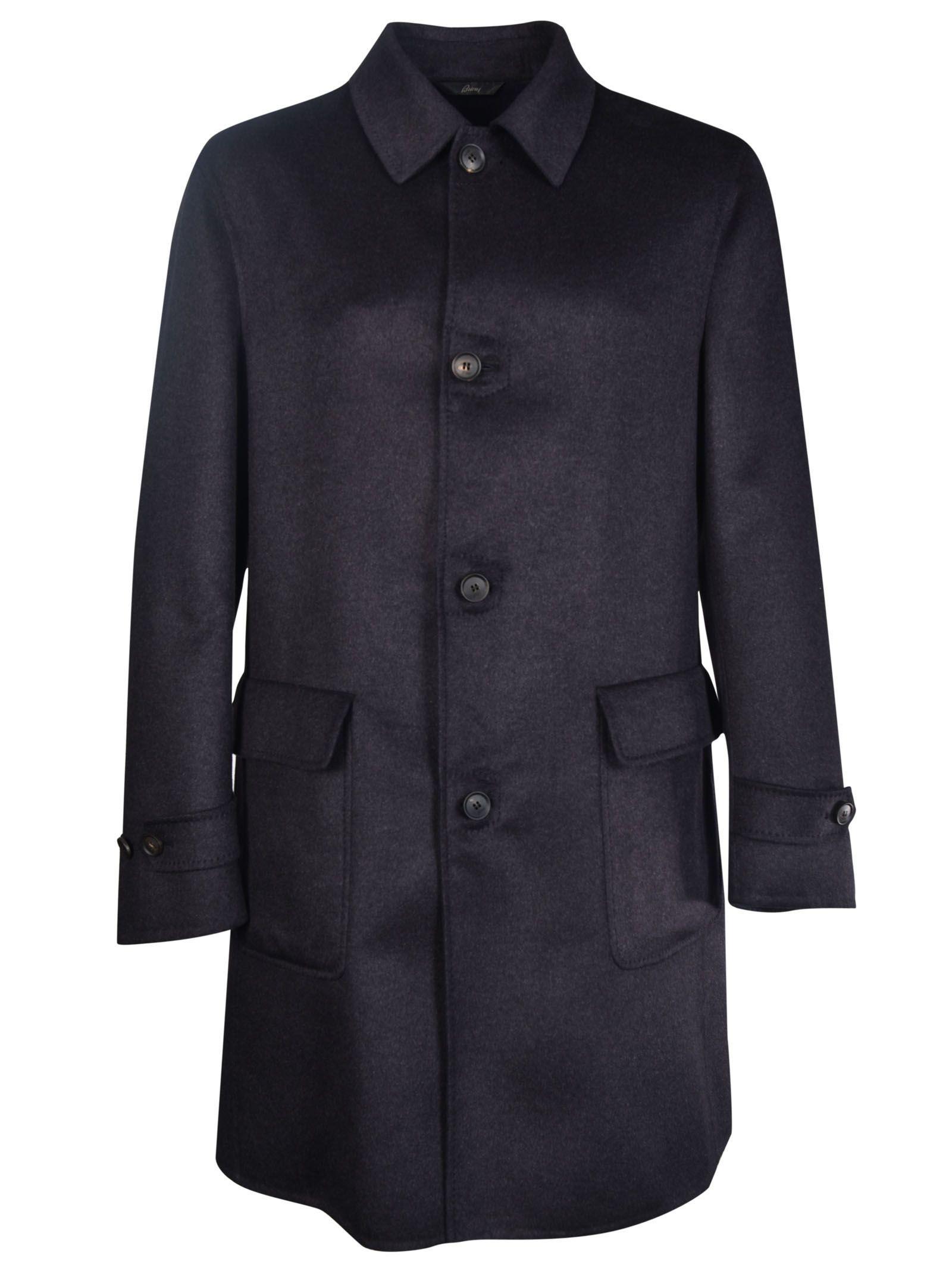Brioni Wool-Silk Coat