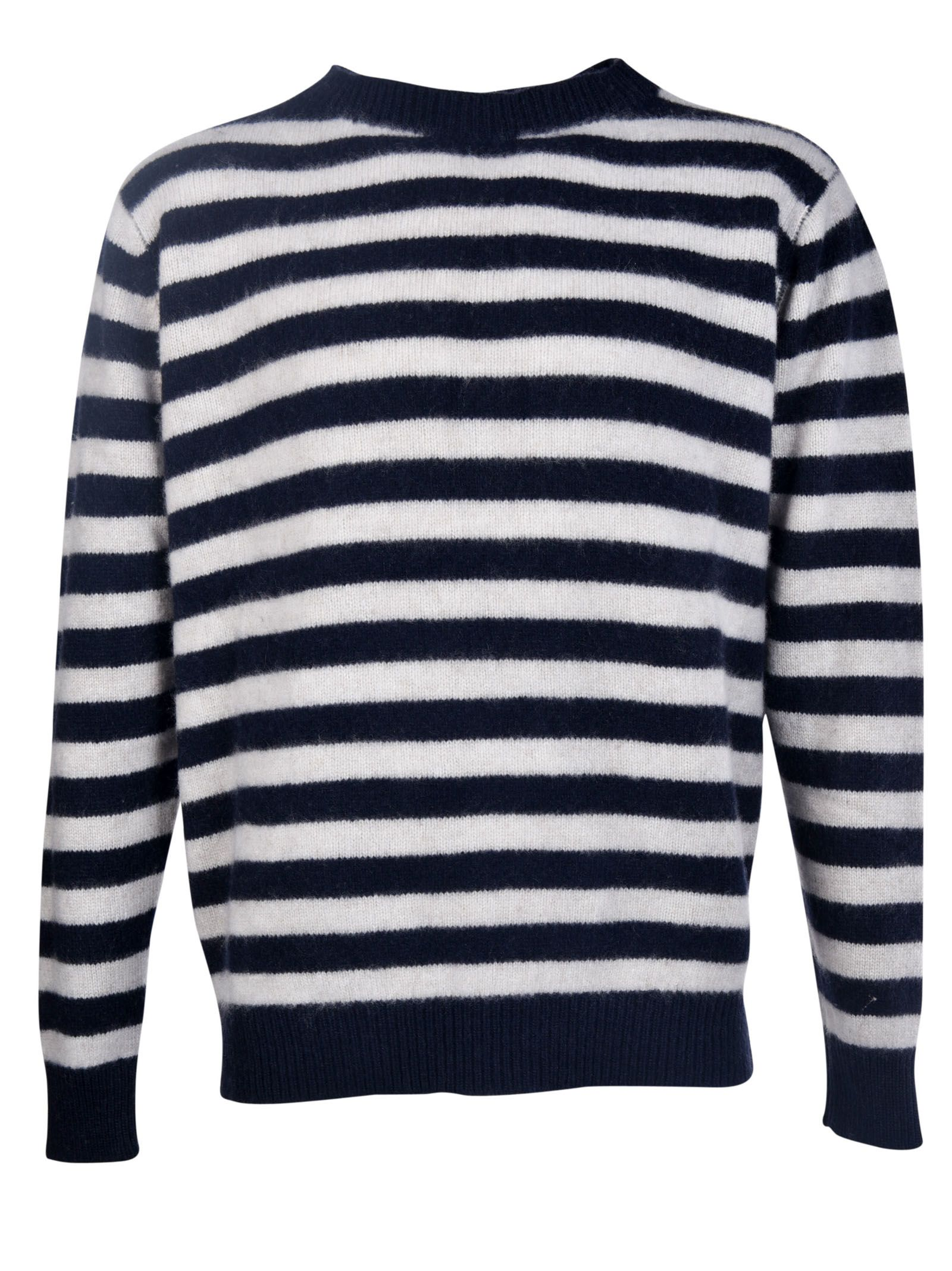 The Elder Statesman - The Elder Statesman Inch Stripe Sweater ...