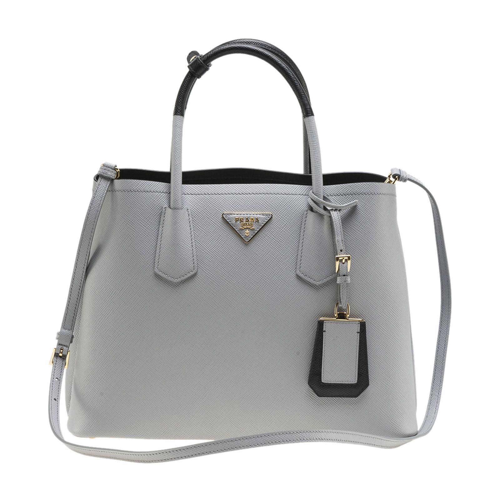 f699dbe5a548 Prada Medium Saffiano Greca Paradigm Tote Bags | Stanford Center for ...