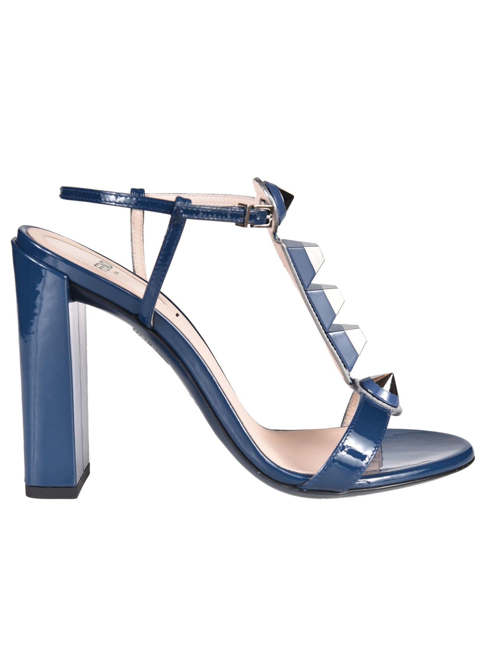 Fendi Studded Sandals