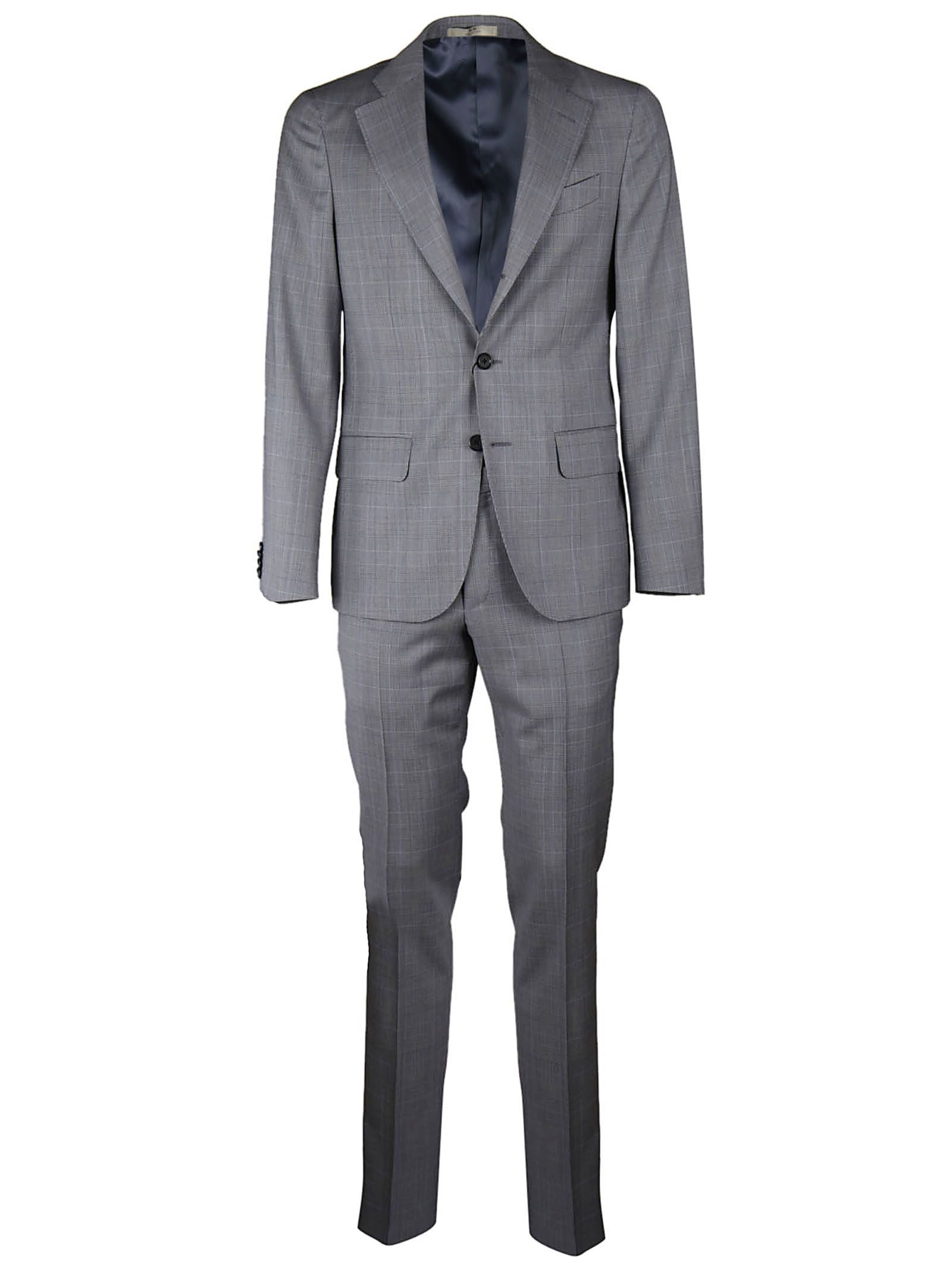 Corneliani Checked Suit
