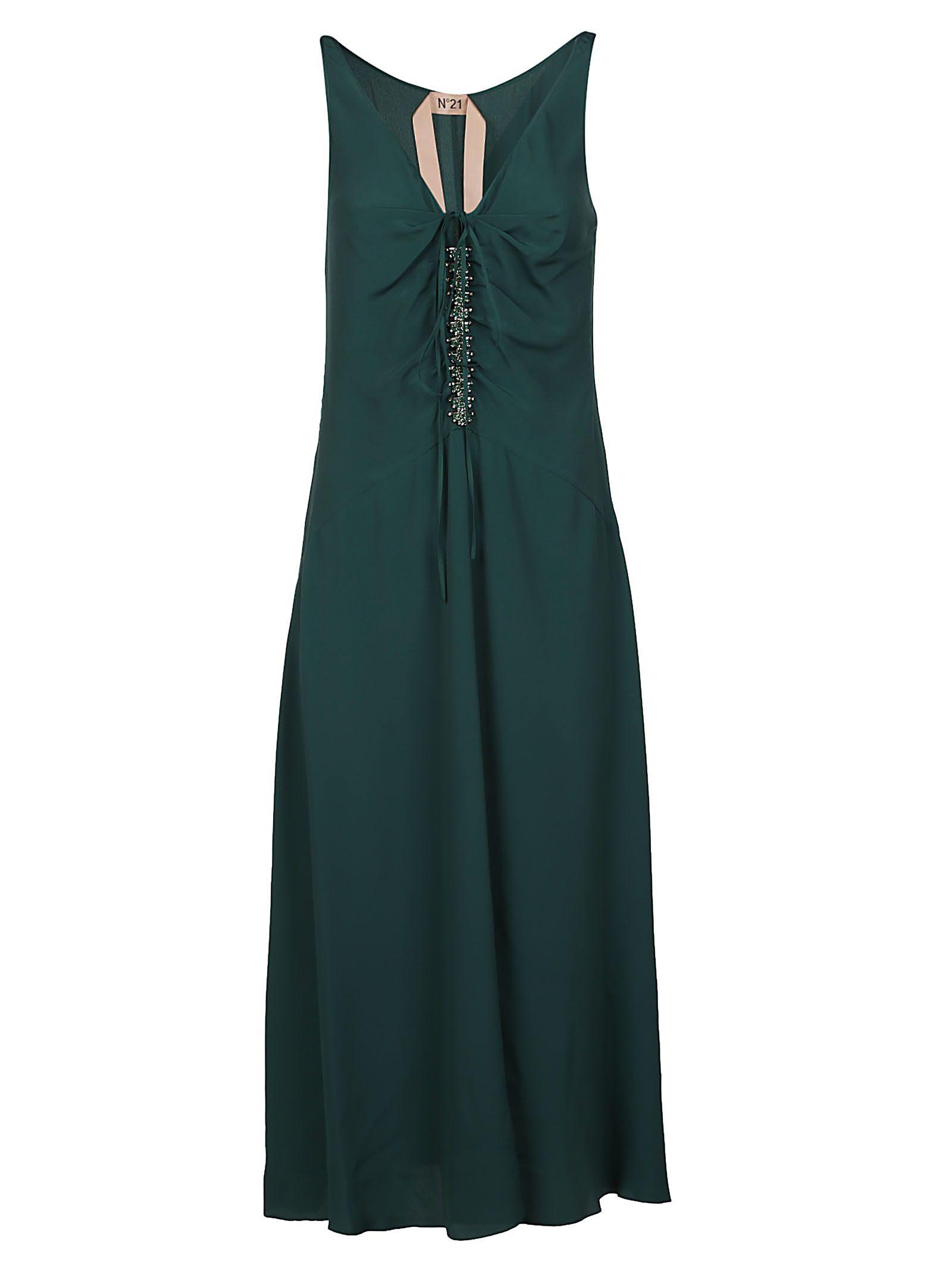 N°21  RHINESTONE DRESS