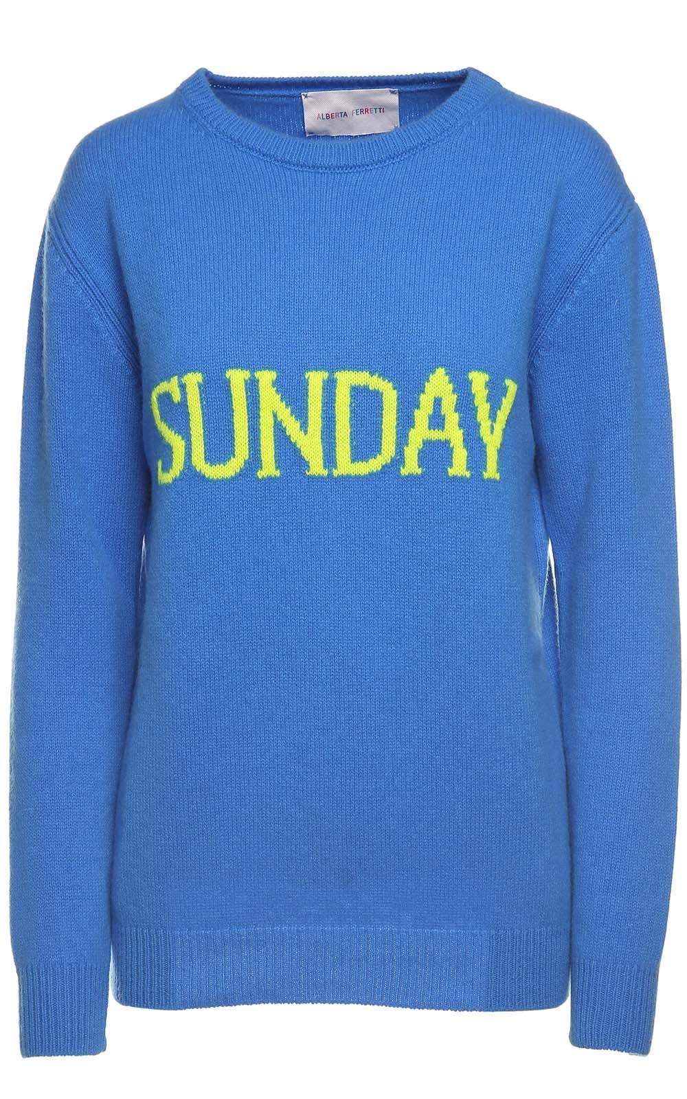 Alberta Ferretti Sunday Wool And Cashmere-blend Jumper
