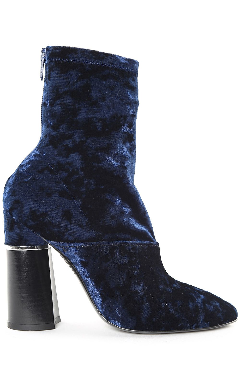 3.1 Phillip Lim Kyoto Stretch-velvet Ankle Boots