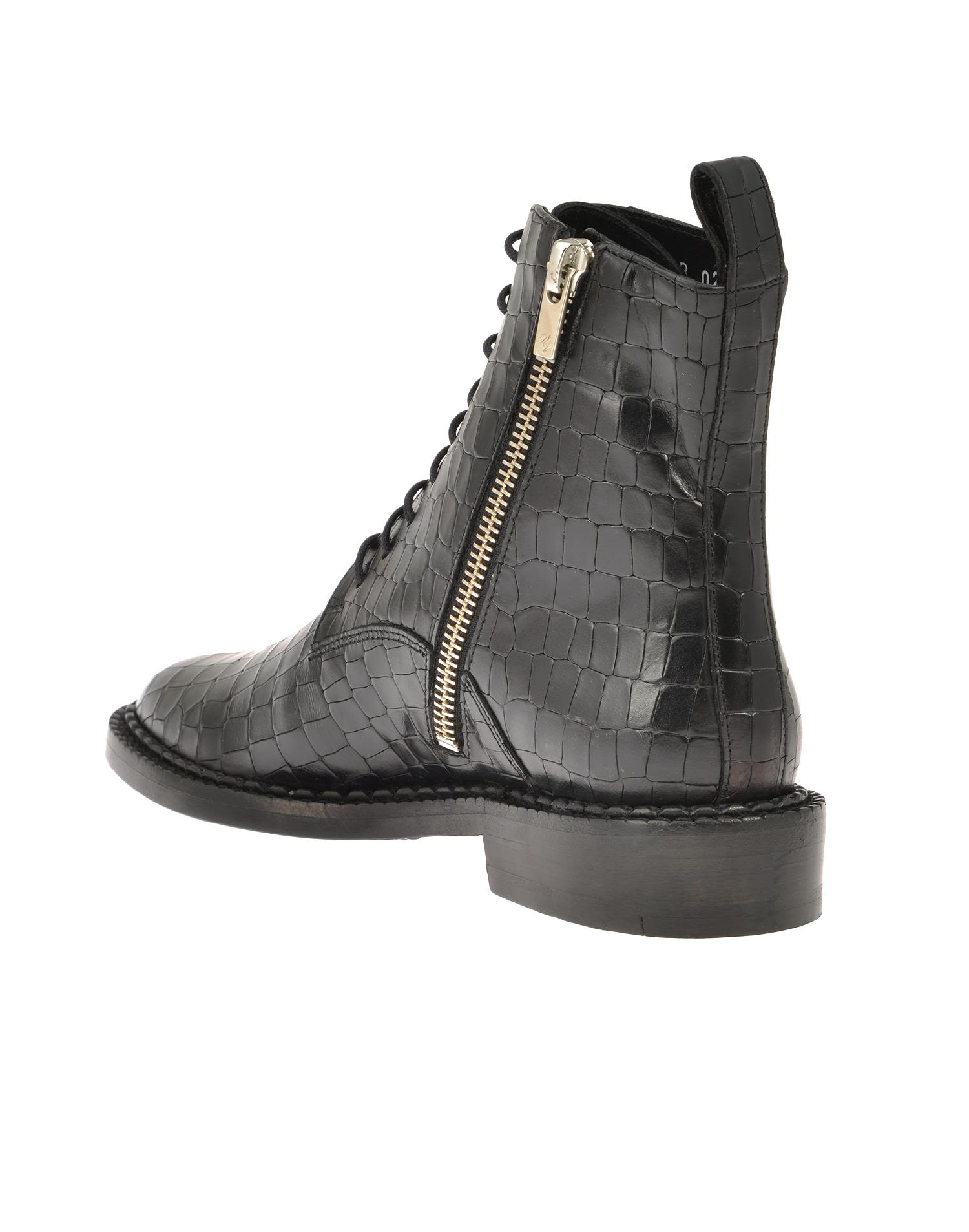 robert clergerie robert clergerie leather ankle boot