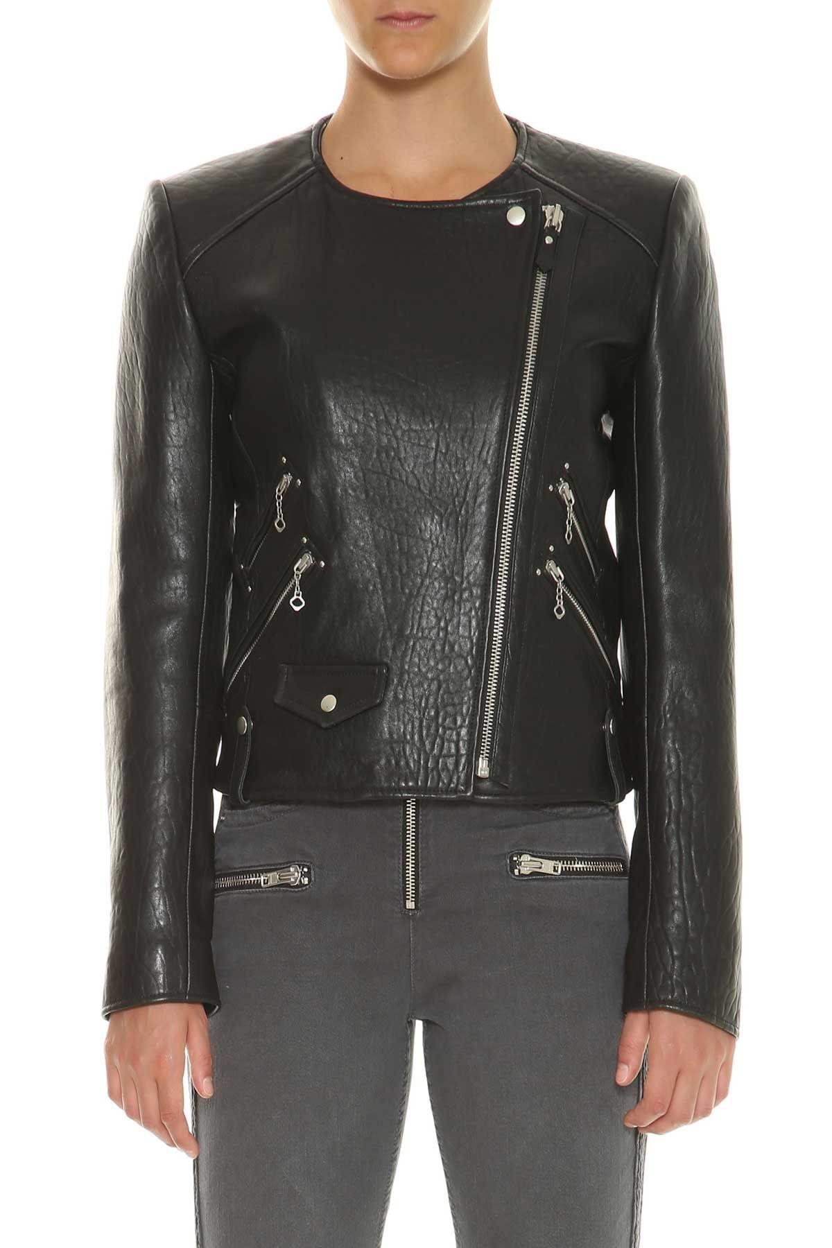 Isabel Marant Etoile kankara Leather Biker Jacket