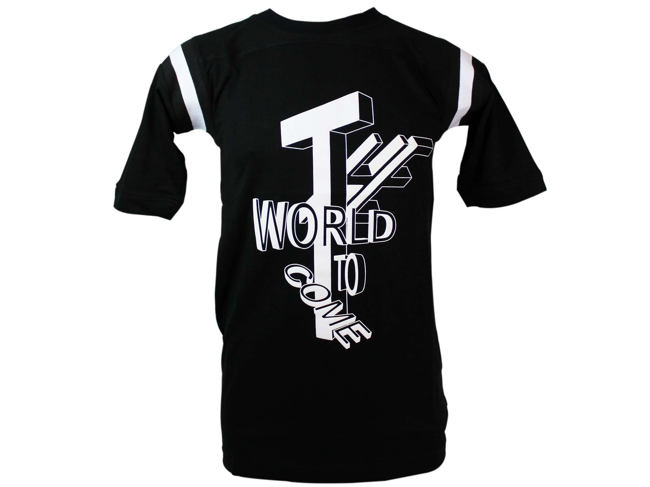 Ktz Black The World Printed T-shirt