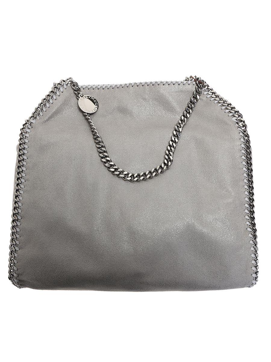 Faux Leather Falabella Small Tote