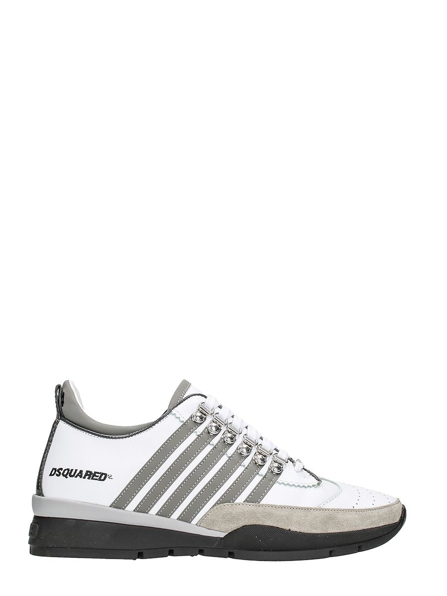 Dsquared2 251 White Leather Sneakers