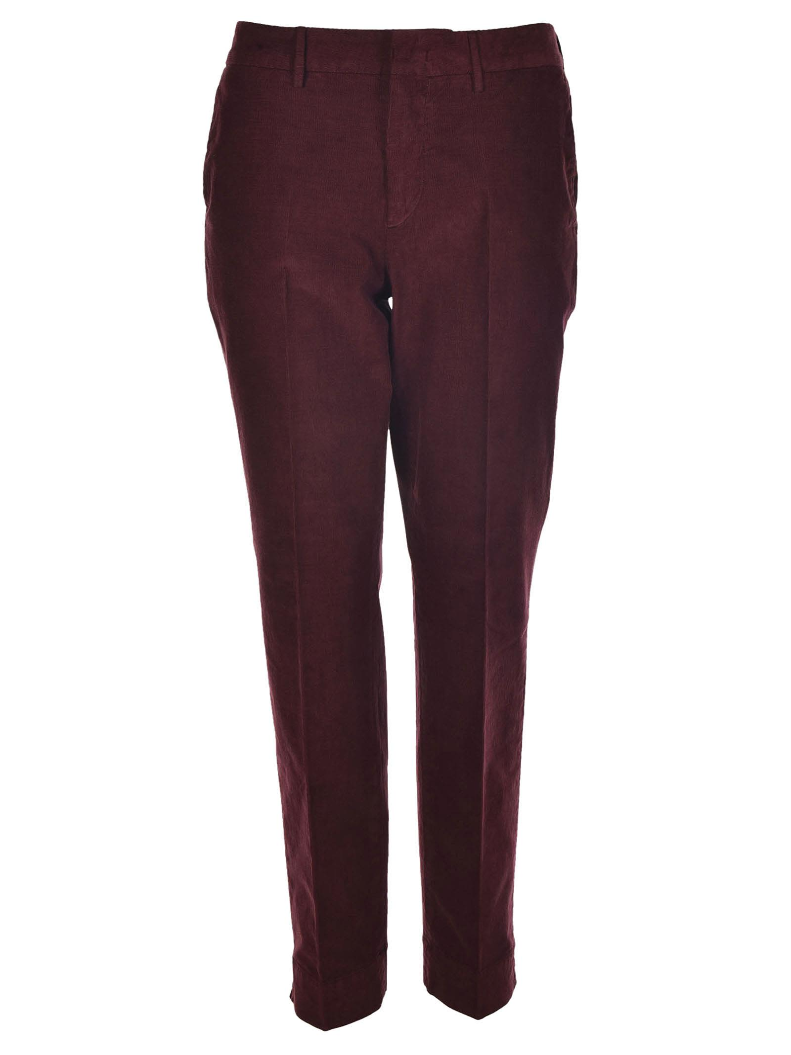 Pt01 Tailored Fitted Trousers