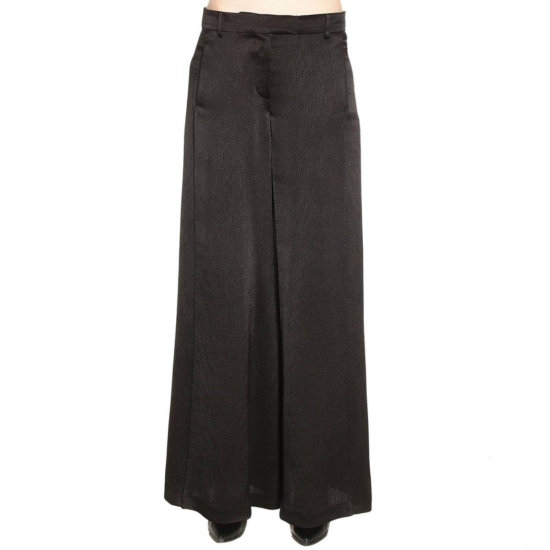Pants Wide Leg Satin Trousers