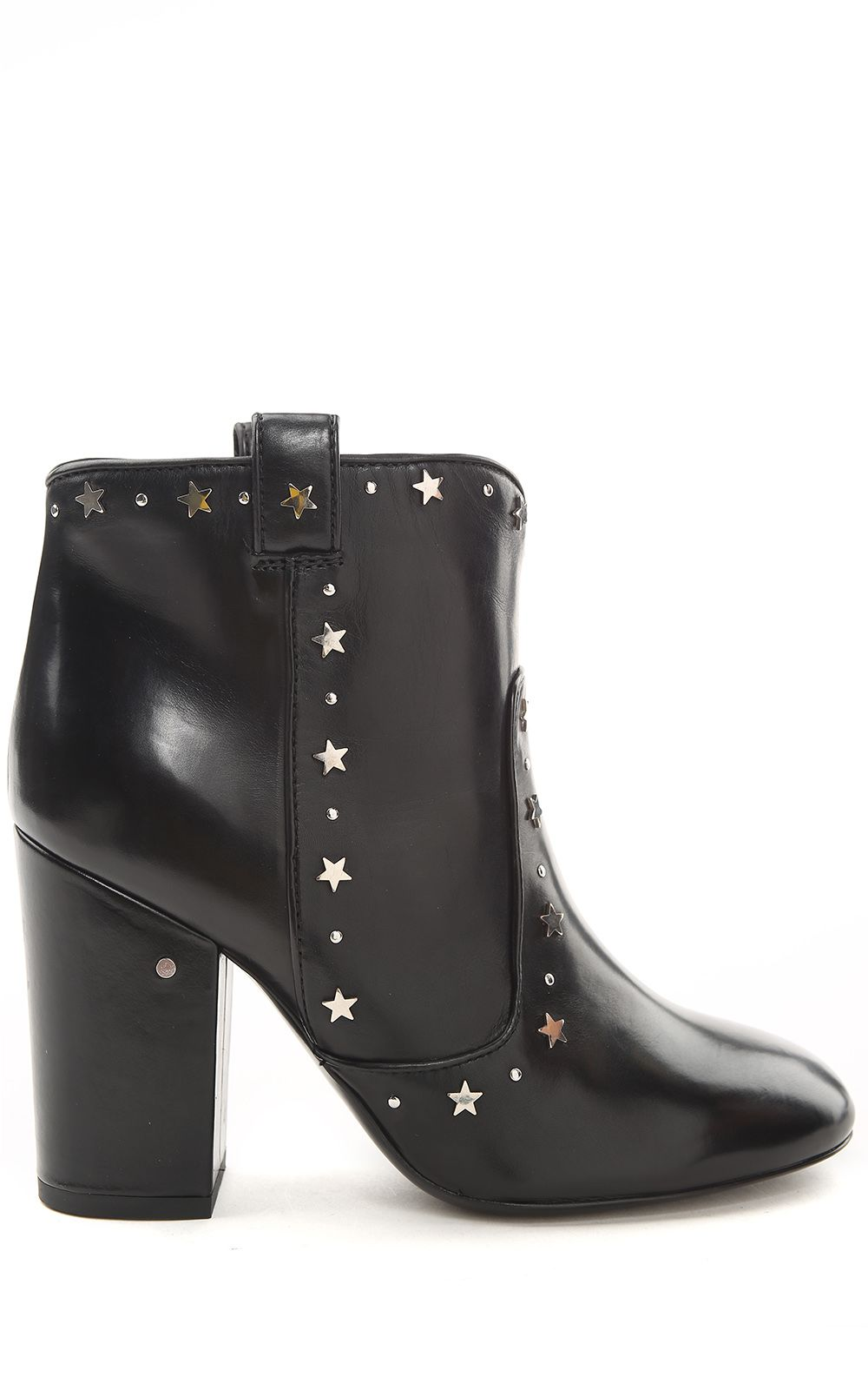 Laurence Dacade Pete Star-studded Leather Ankle Boots