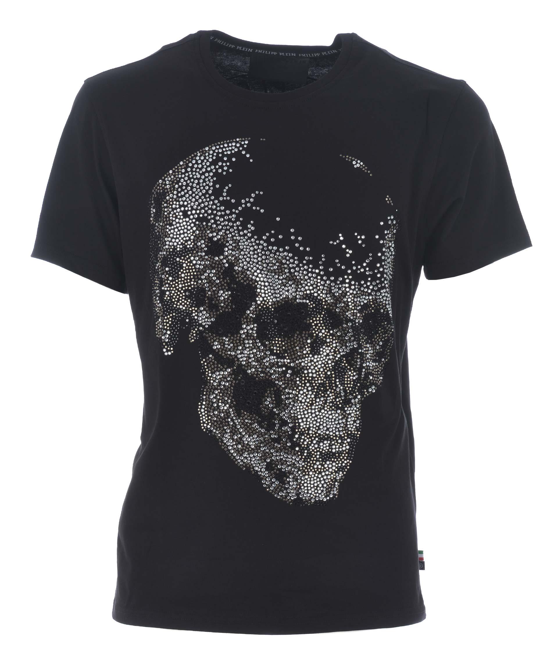 Philipp Plein Skull Embellished T-shirt