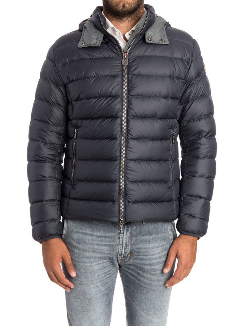 colmar colmar down jacket blue grey men 39 s blazers italist. Black Bedroom Furniture Sets. Home Design Ideas