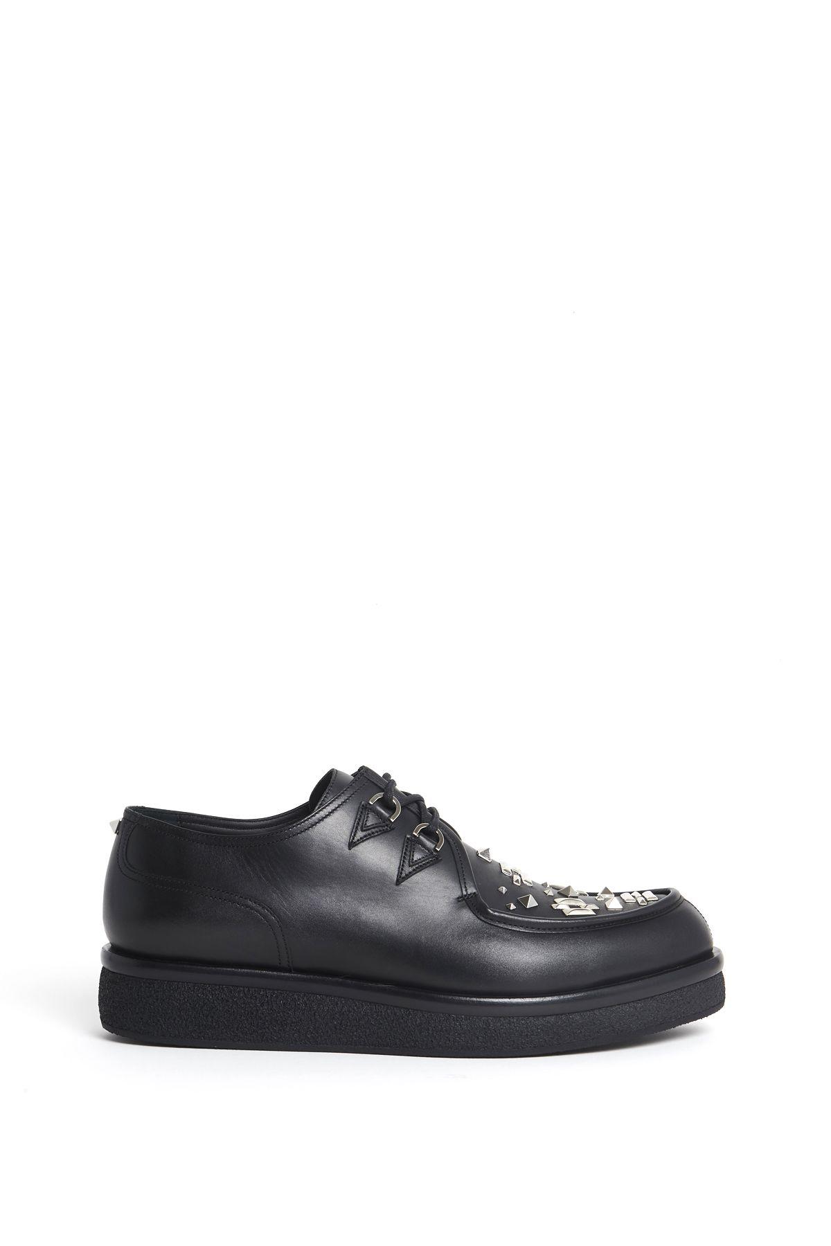 valentino garavani valentino garavani sneakers black men 39 s shoes italist. Black Bedroom Furniture Sets. Home Design Ideas