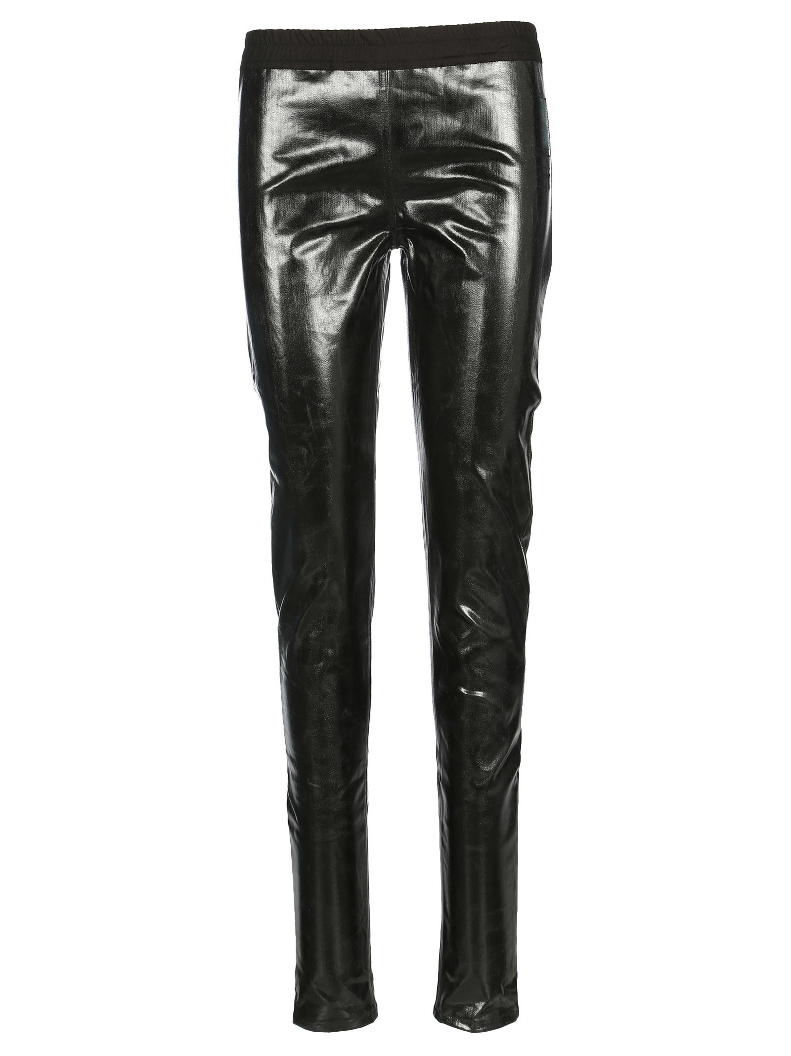 Drkshdw DARK SHADOW VERNISHED ELASTICATED TROUSERS