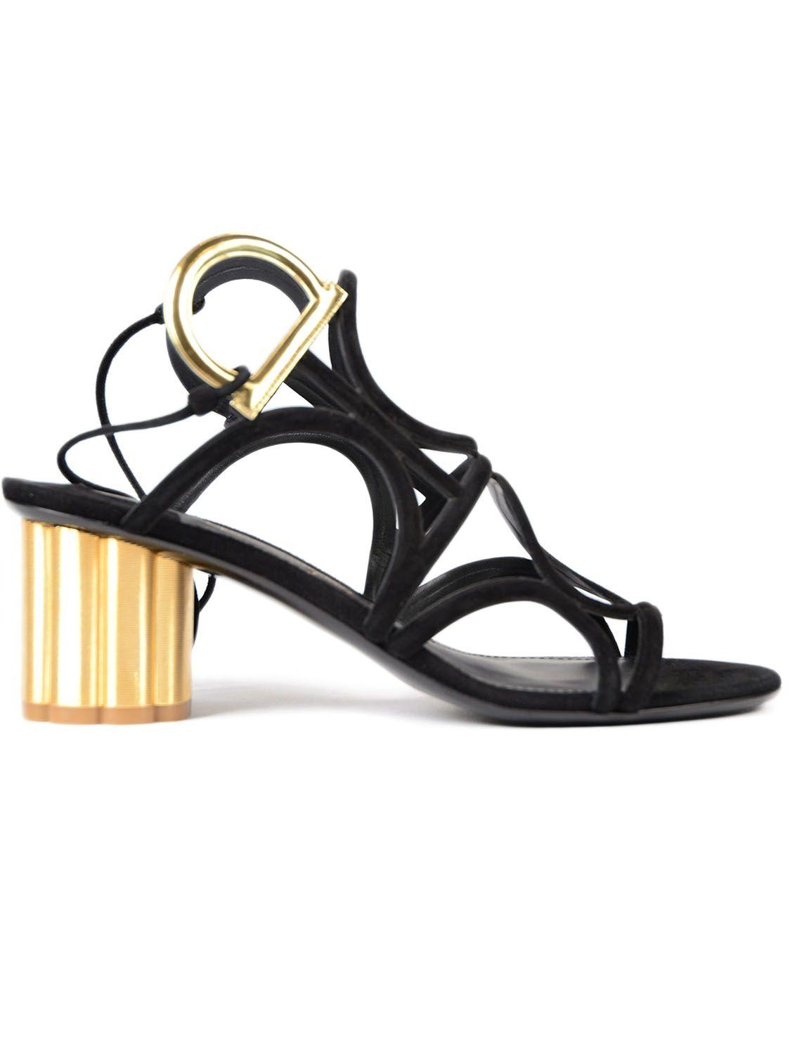 Salvatore Ferragamo Da Vinci 55 Sandals