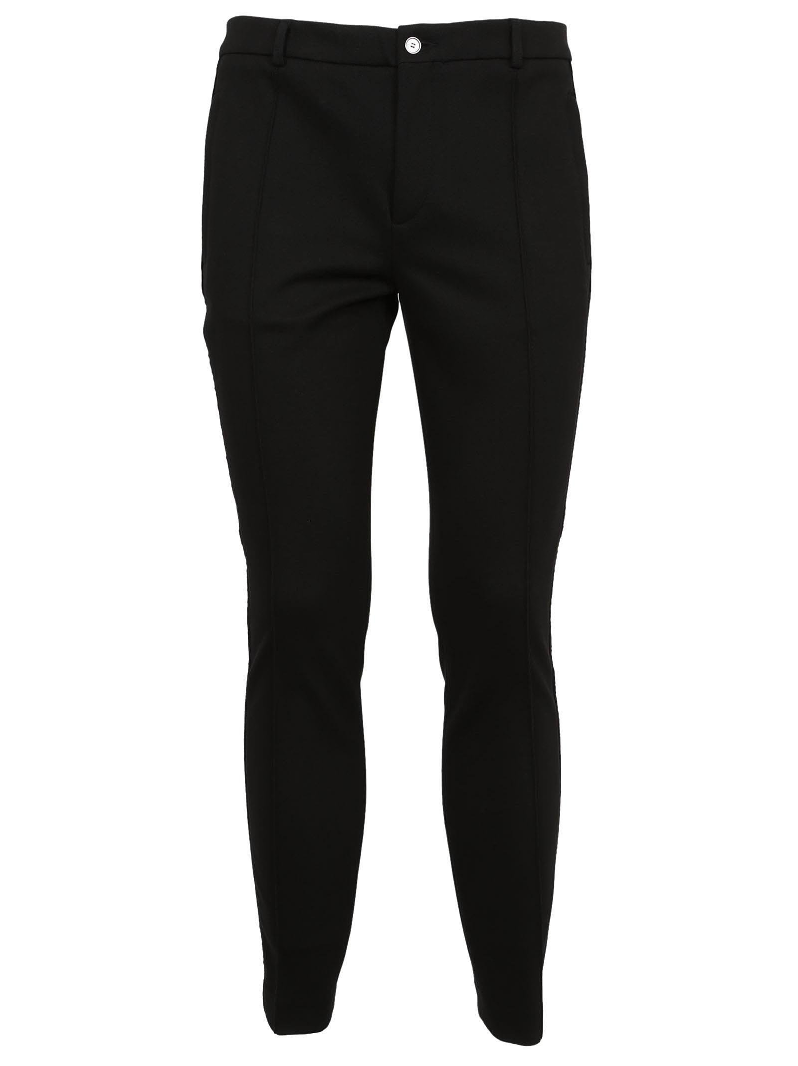 Dolce & Gabbana Side Stripes Tailored Trousers