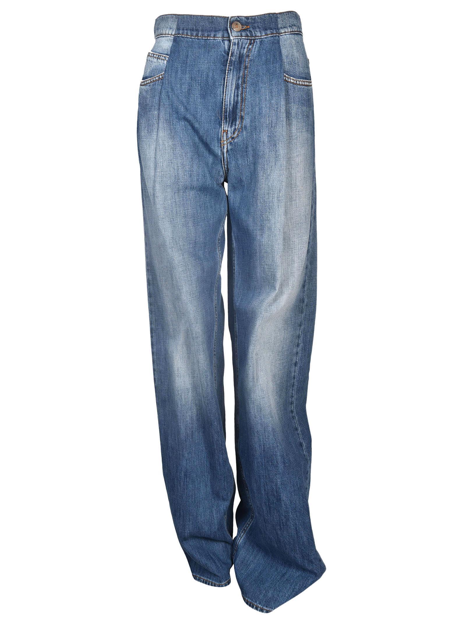 Maison Margiela Wide Leg Jeans