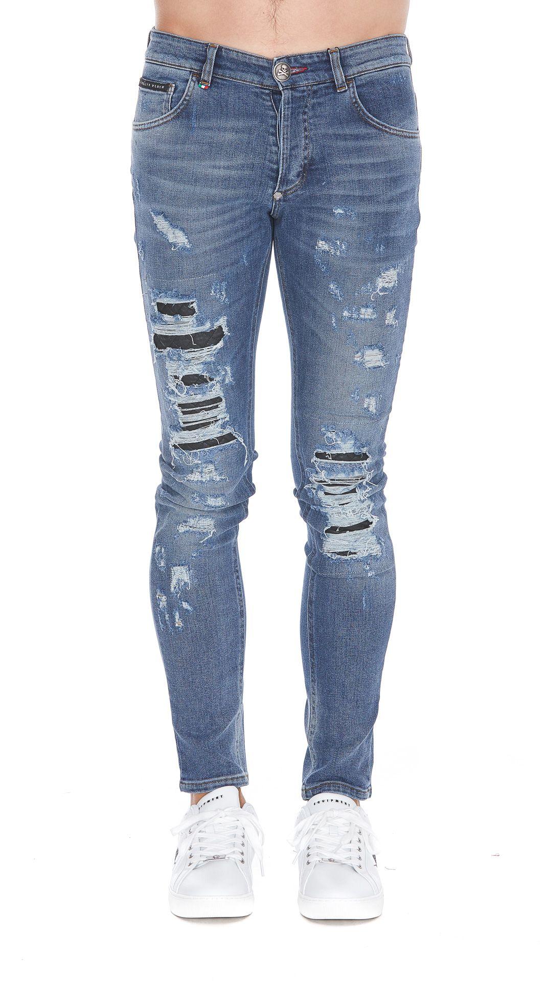 philipp plein philipp plein cange jeans upper east side men 39 s jeans italist. Black Bedroom Furniture Sets. Home Design Ideas