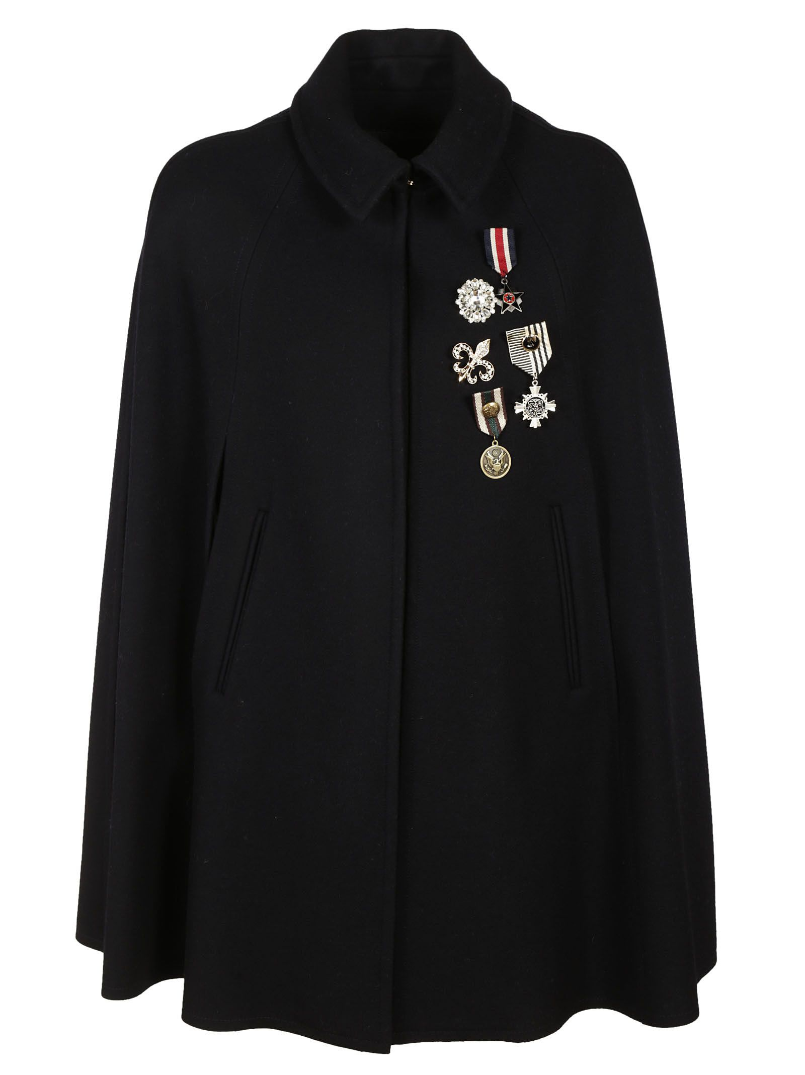 Ermanno Ermanno Scervino Badged Coat