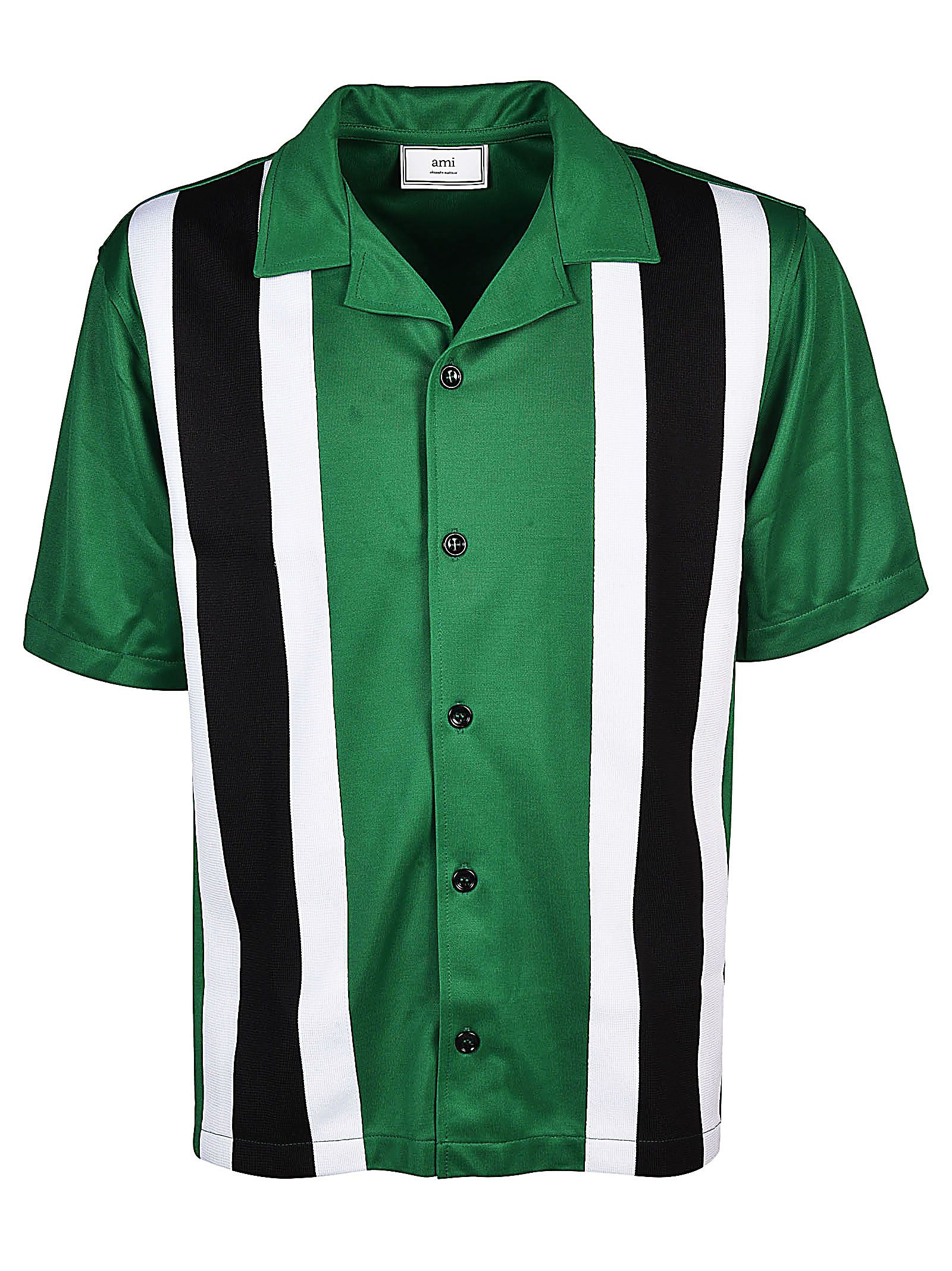 Ami Alexandre Mattiussi Striped Shirt