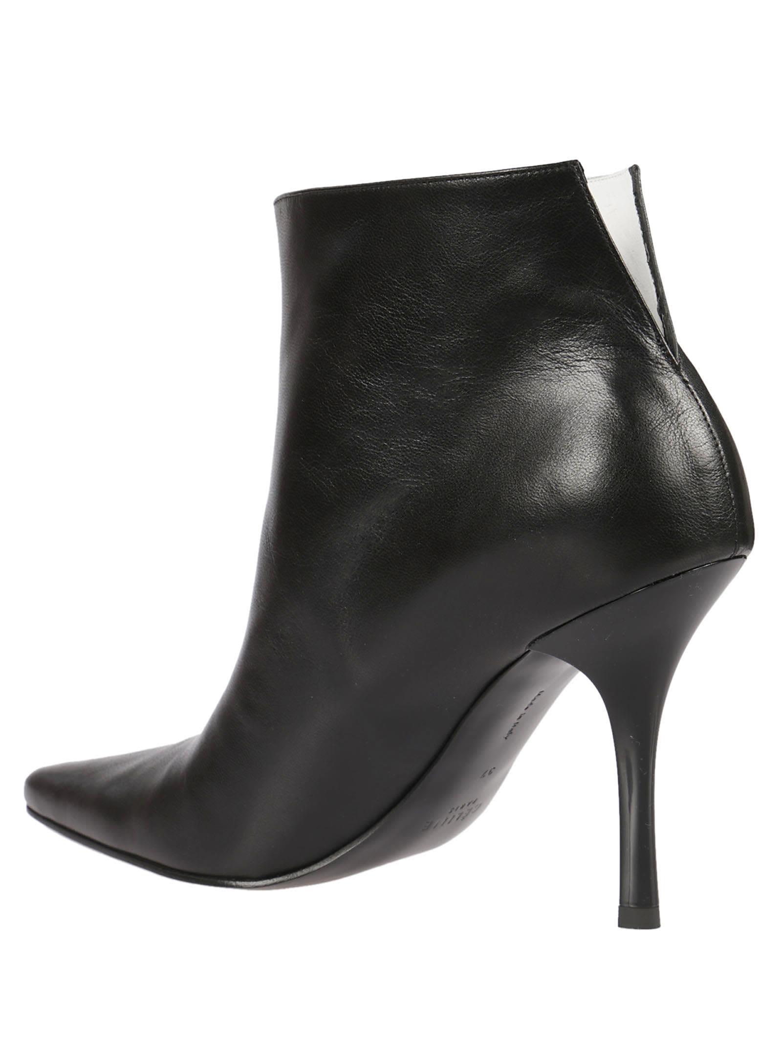 Celine - Celine Back Slit Ankle Boots