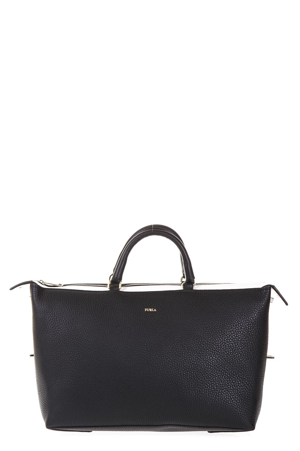 Furla Black Satchel Blogger