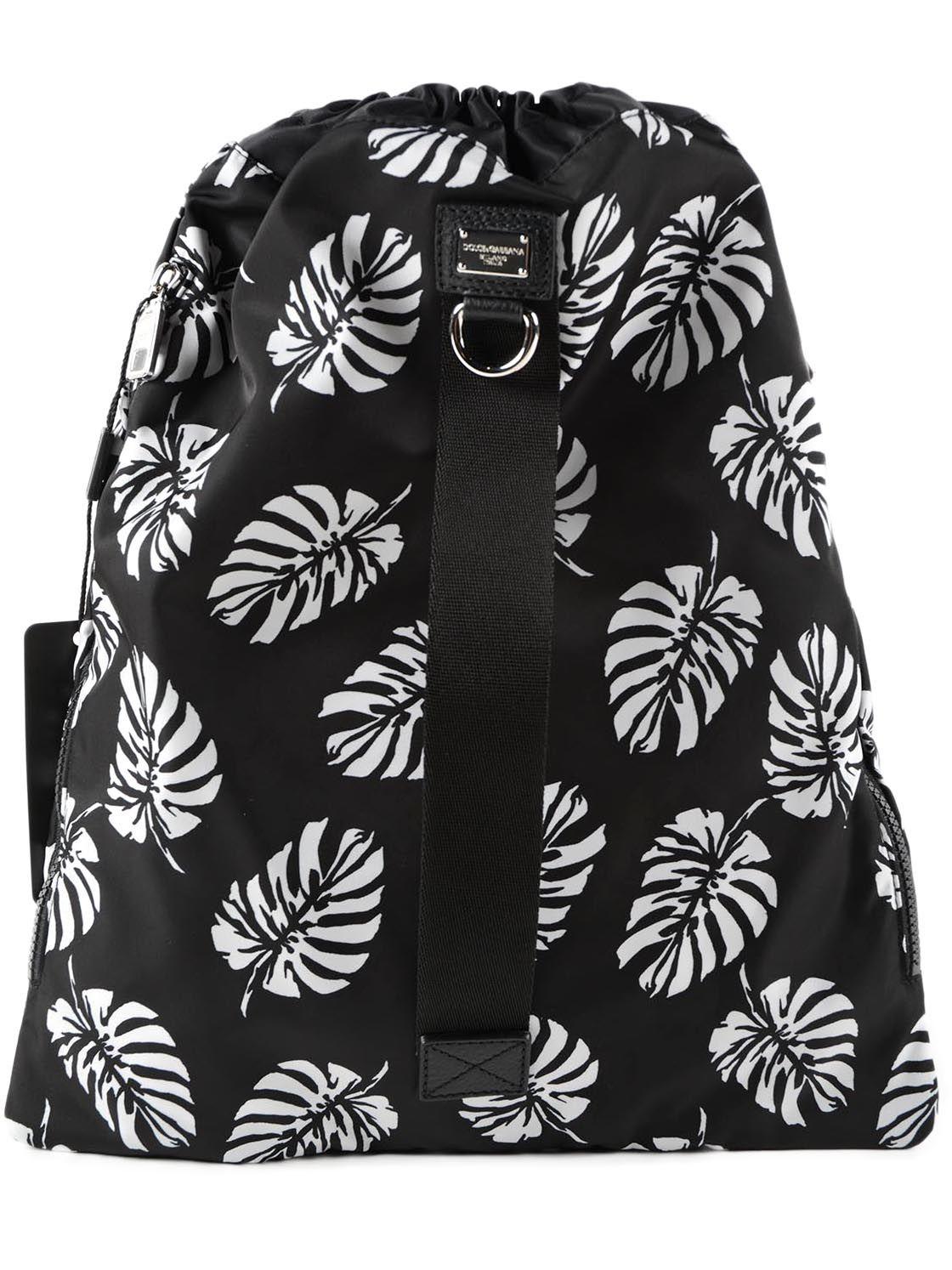 Dolce & Gabbana Dolce & Gabbana Pineapple Print Backpack