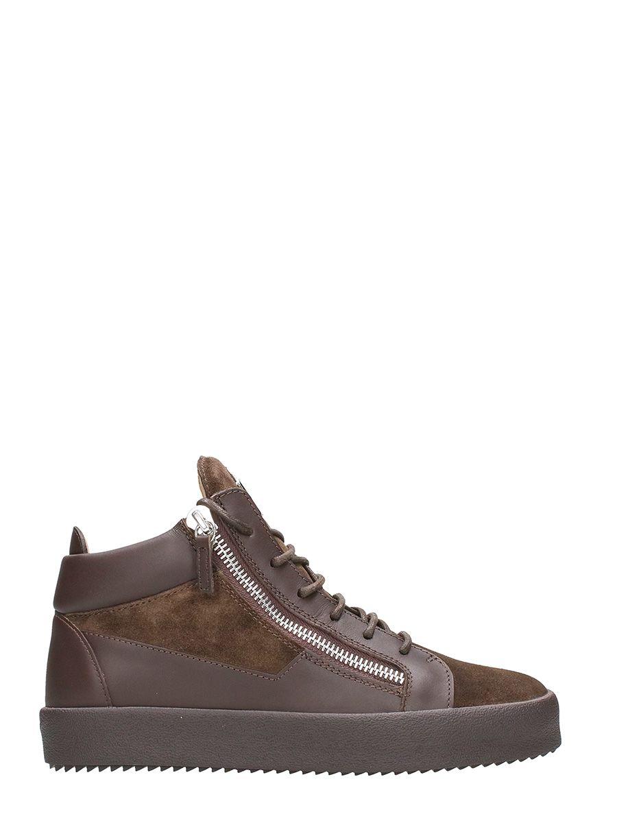 Giuseppe Zanotti Keith Mid Top Sneakers