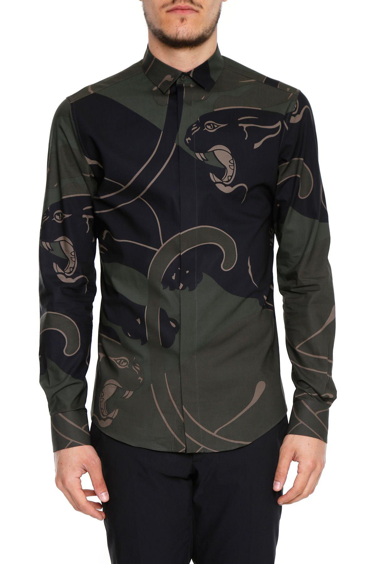 Panther Print Shirt