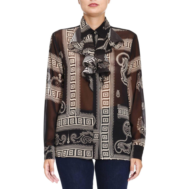 Shirt Shirt Women Versace Collection