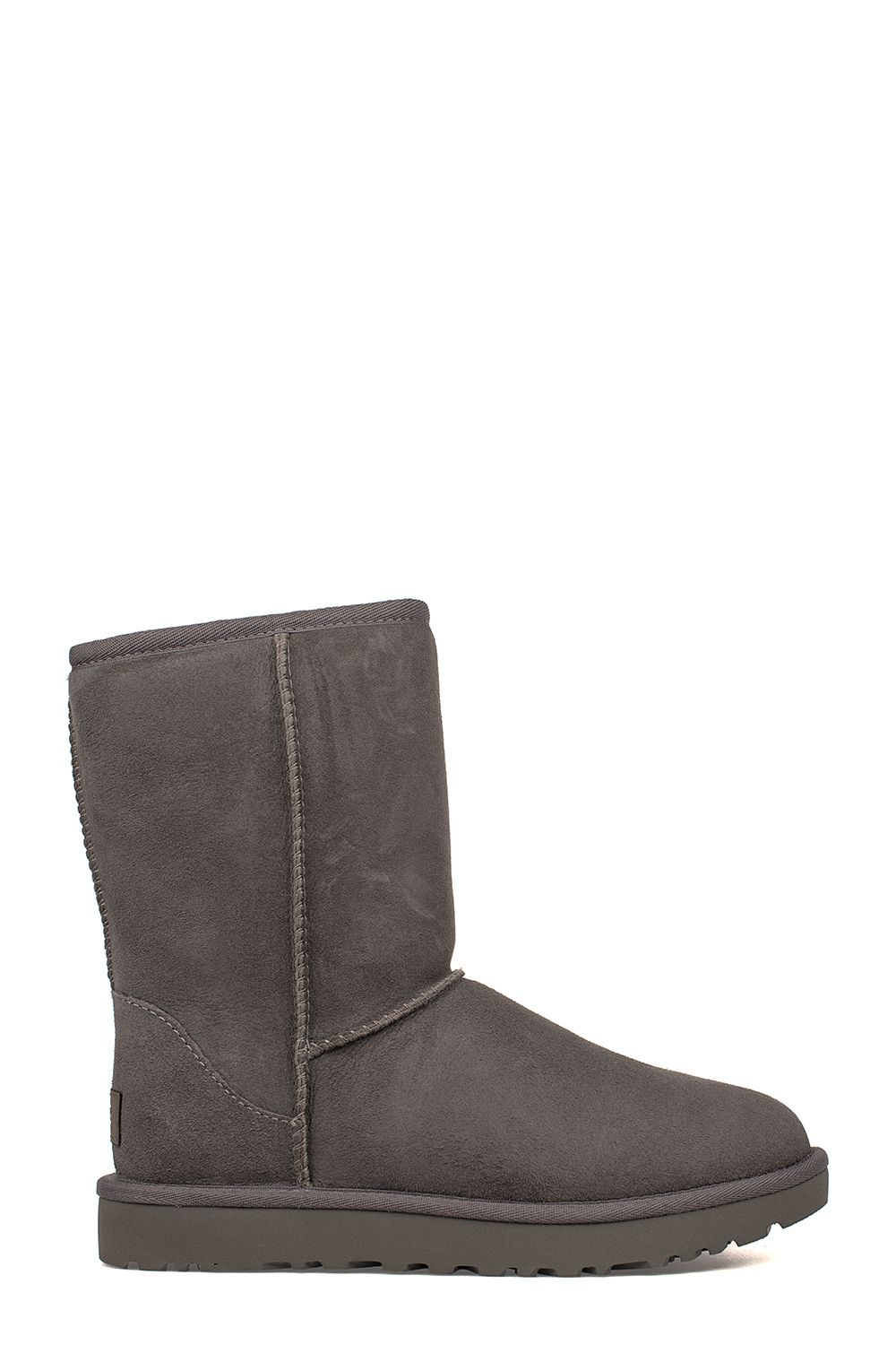 Gray Classic Short Low Boot