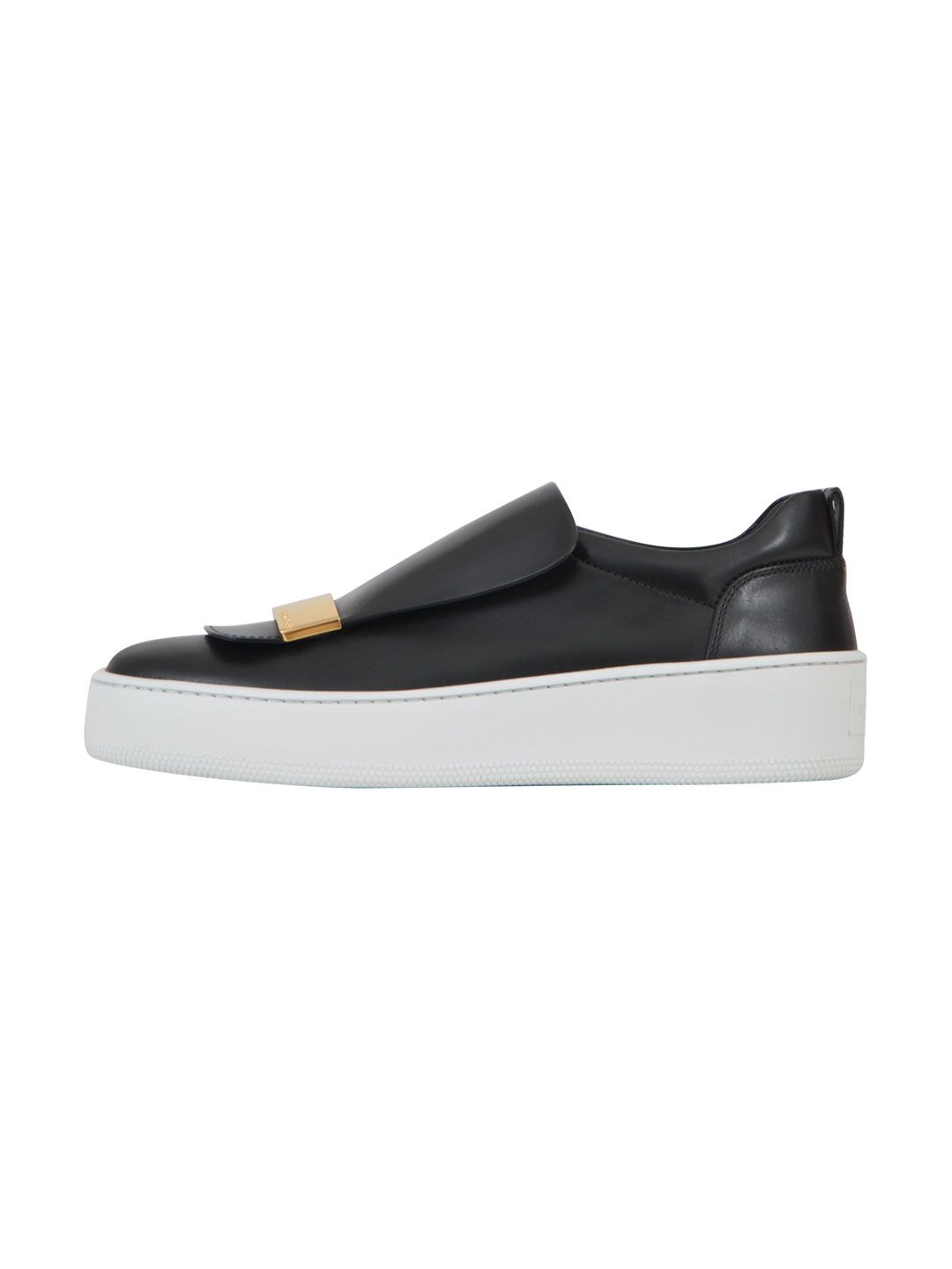 sergio rossi sergio rossi nubuck slip on black women 39 s sneakers italist. Black Bedroom Furniture Sets. Home Design Ideas