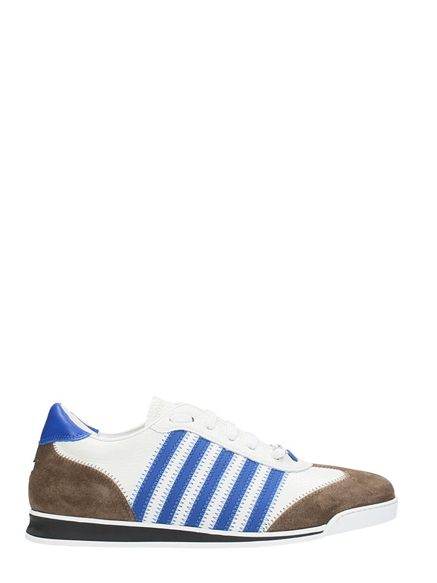 Dsquared2 New Runner White Leather Sneakers