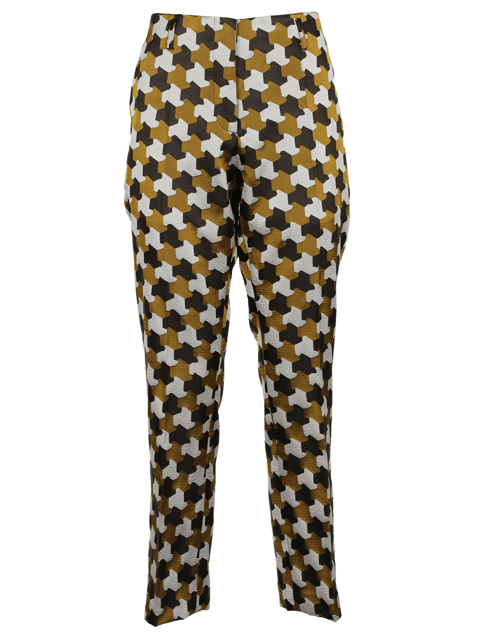 Dries Van Noten Patterned Trousers