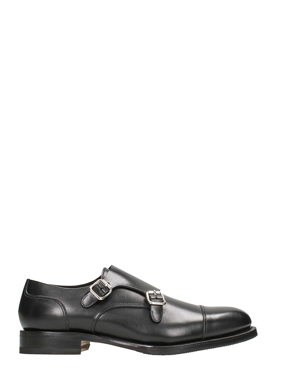 Dsquared2 Missionary Black Leather Lace-up