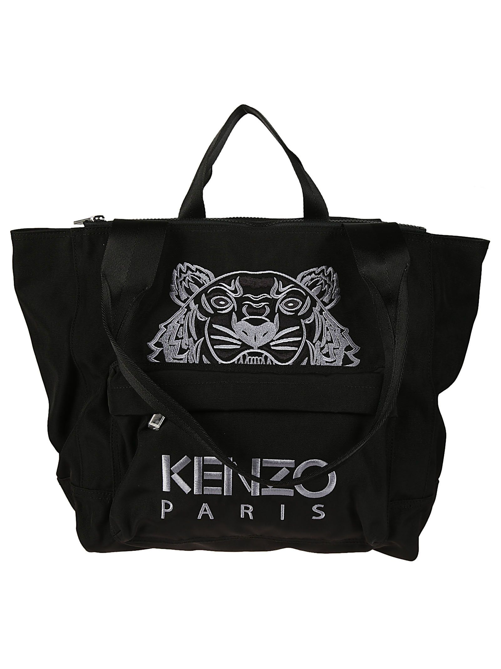 Kenzo Embroidered Tiger Tote
