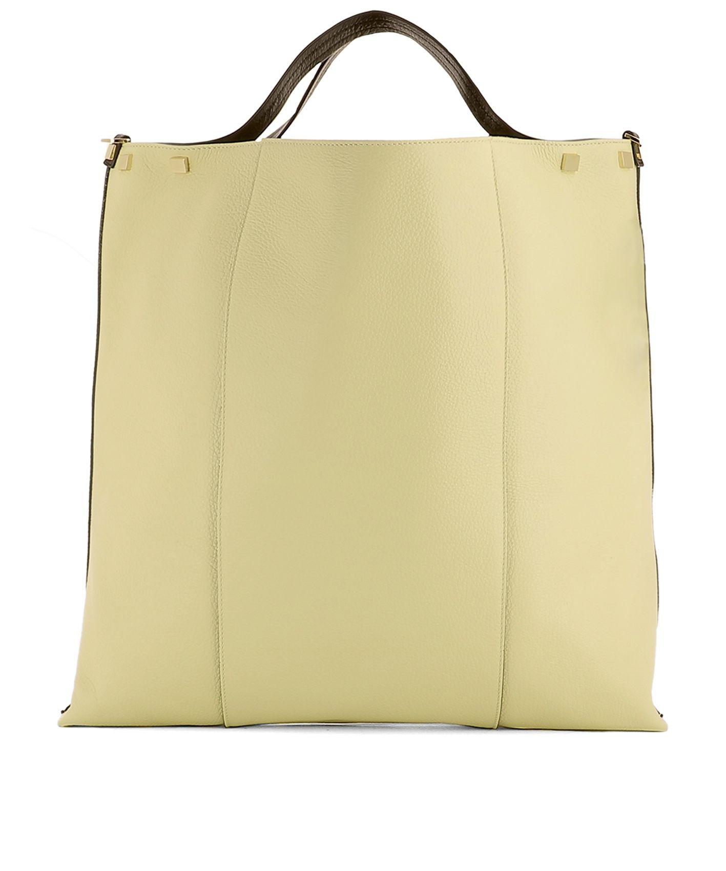Double-face Leather Shoulder Bag