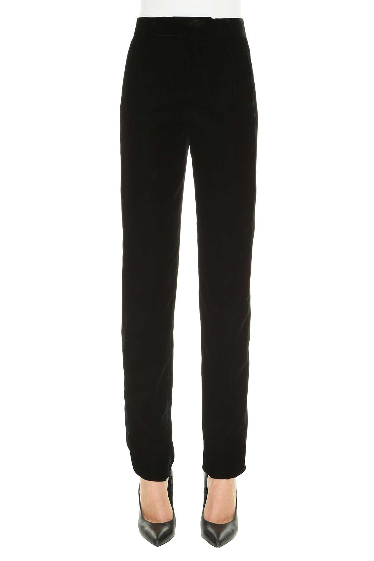 Saint Laurent Velvet Trousers