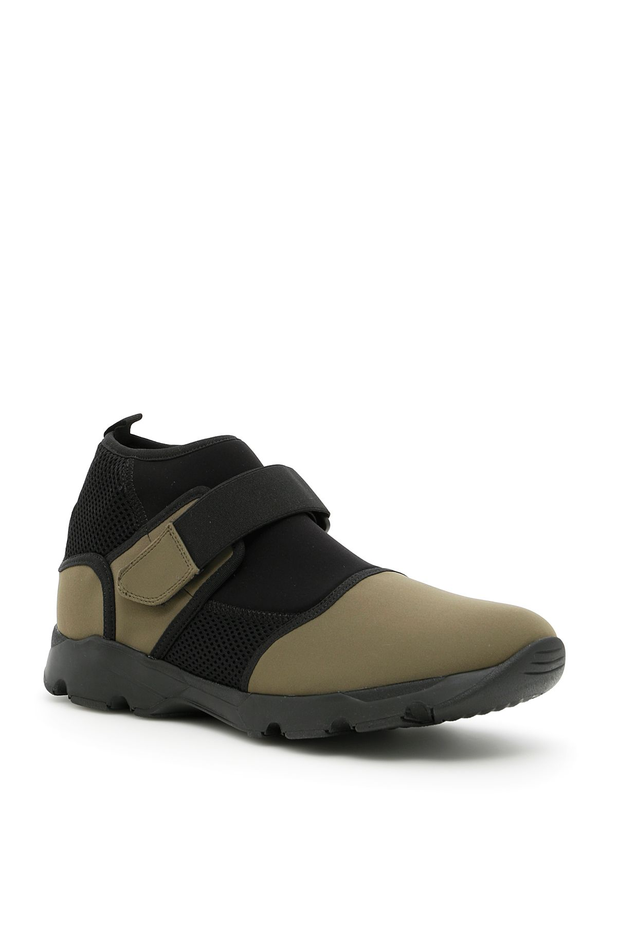 Neoprene Sneakers - IT40 / Green Marni