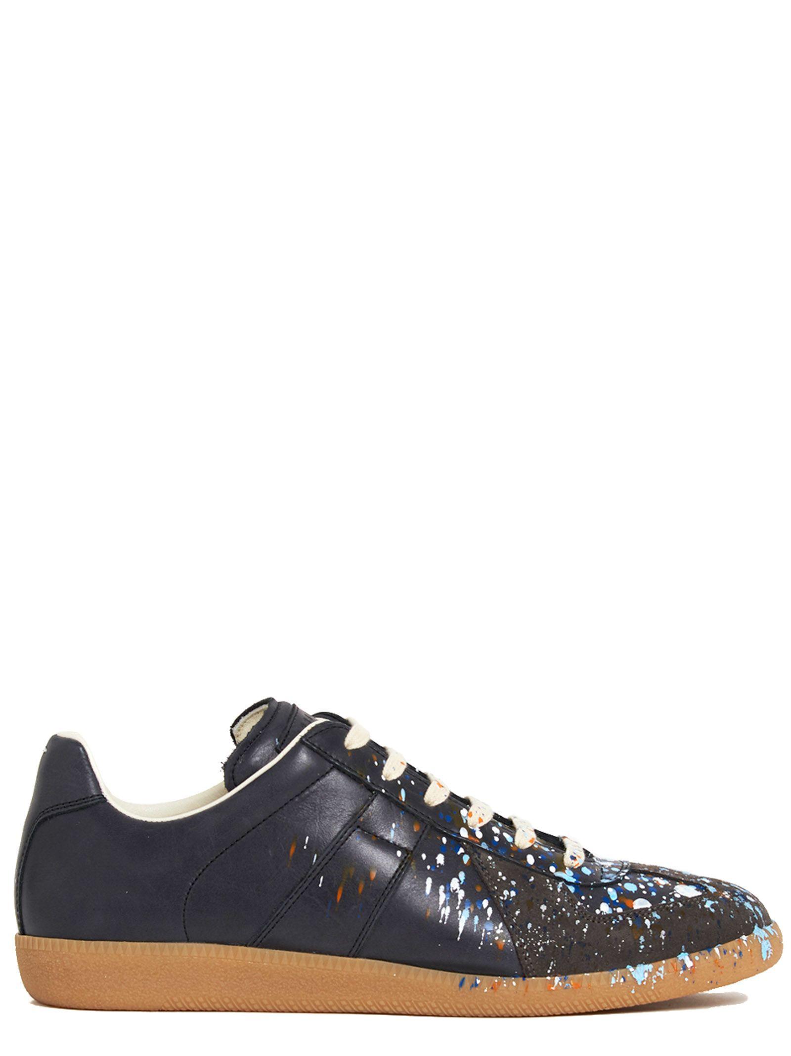 maison margiela maison margiela sneaker black men 39 s sneakers italist. Black Bedroom Furniture Sets. Home Design Ideas
