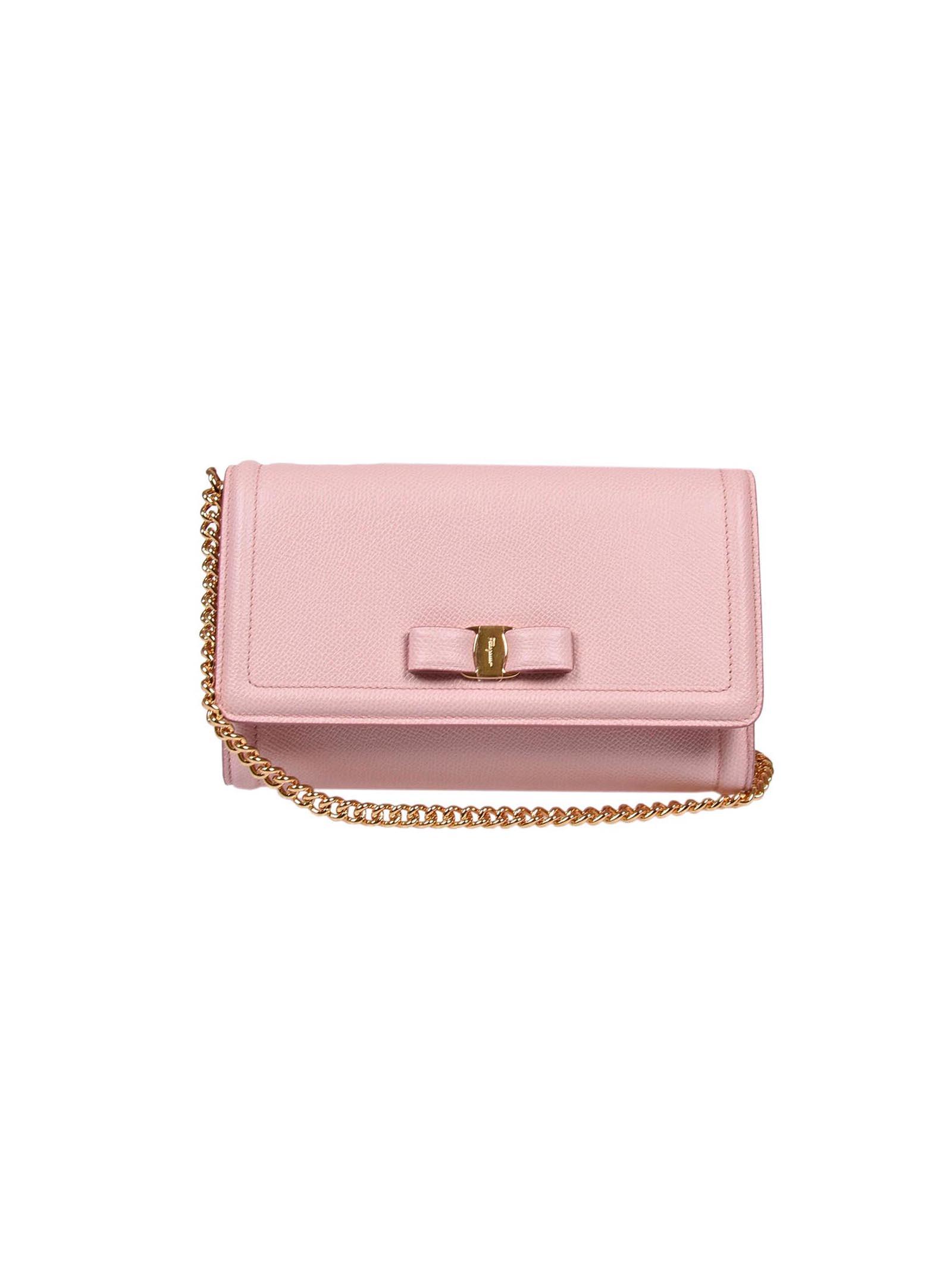 Salvatore Ferragamo Vara Mini Bag In Bonbon  d5885731a3133