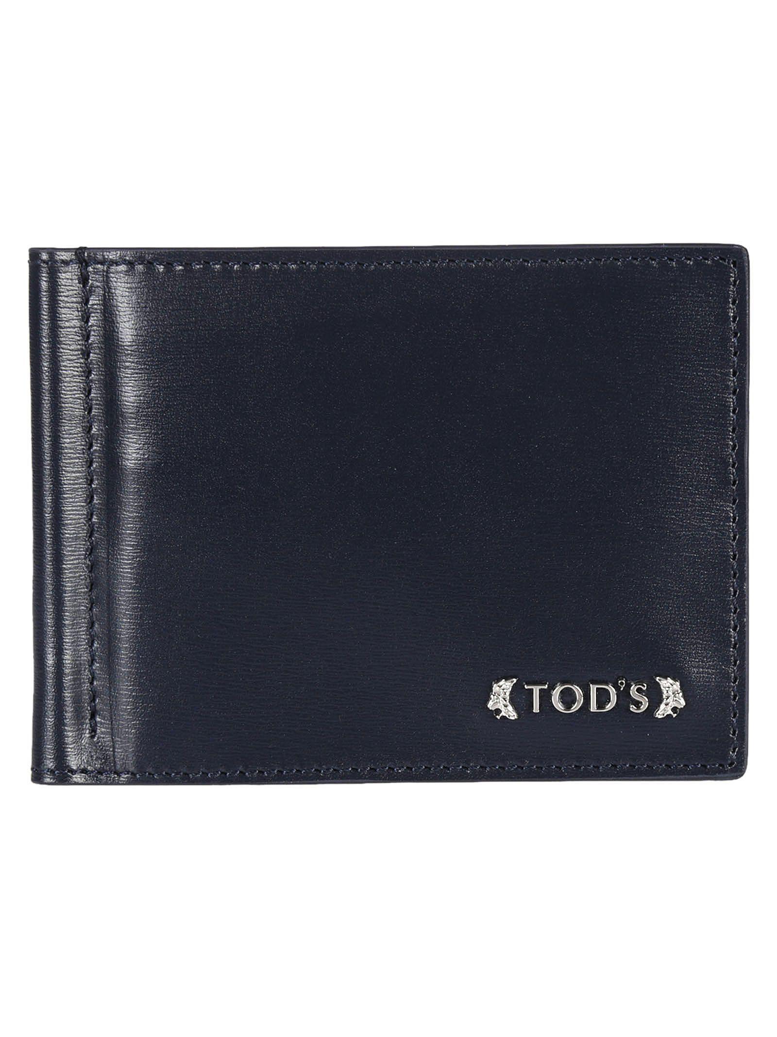 Tods Logo Plaque Wallet