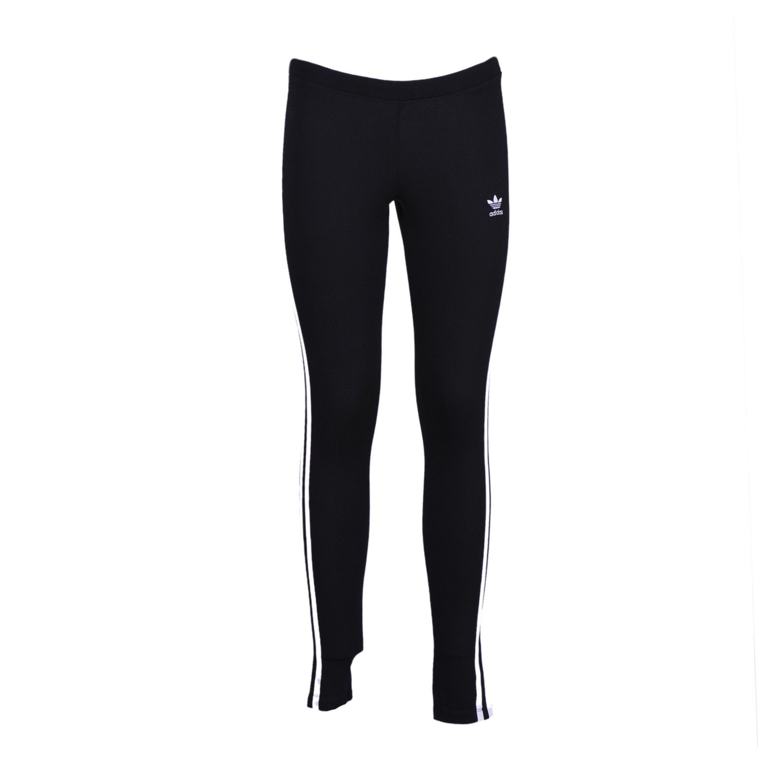 Women'S Originals Trefoil 3-Stripes Leggings, Black