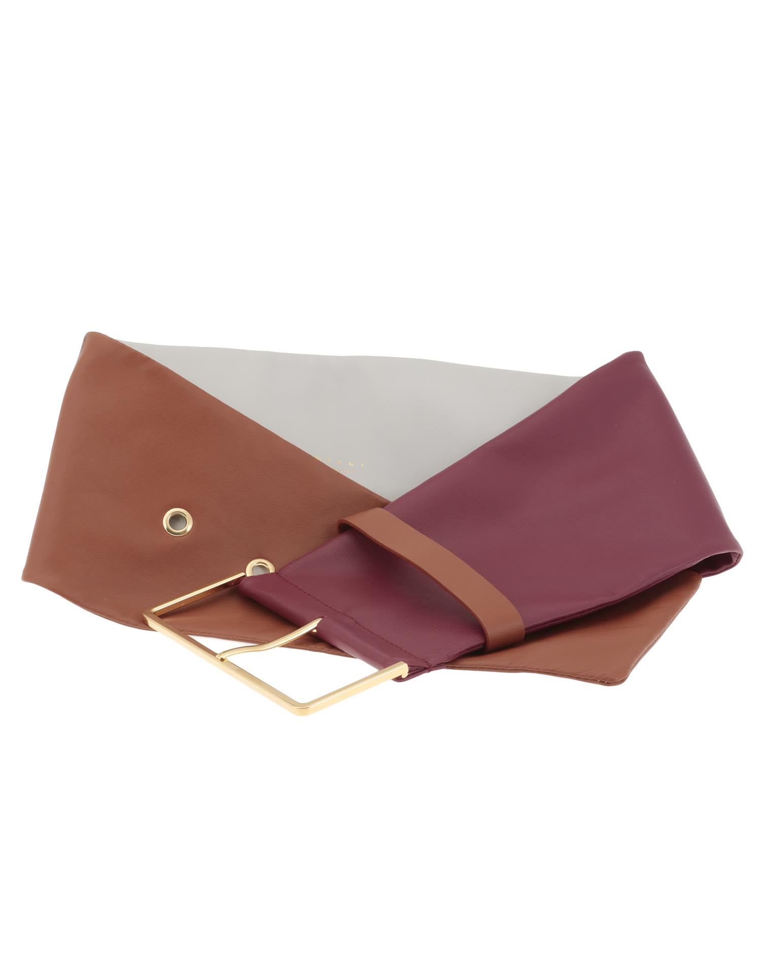 Marni Nappa Leather Belt
