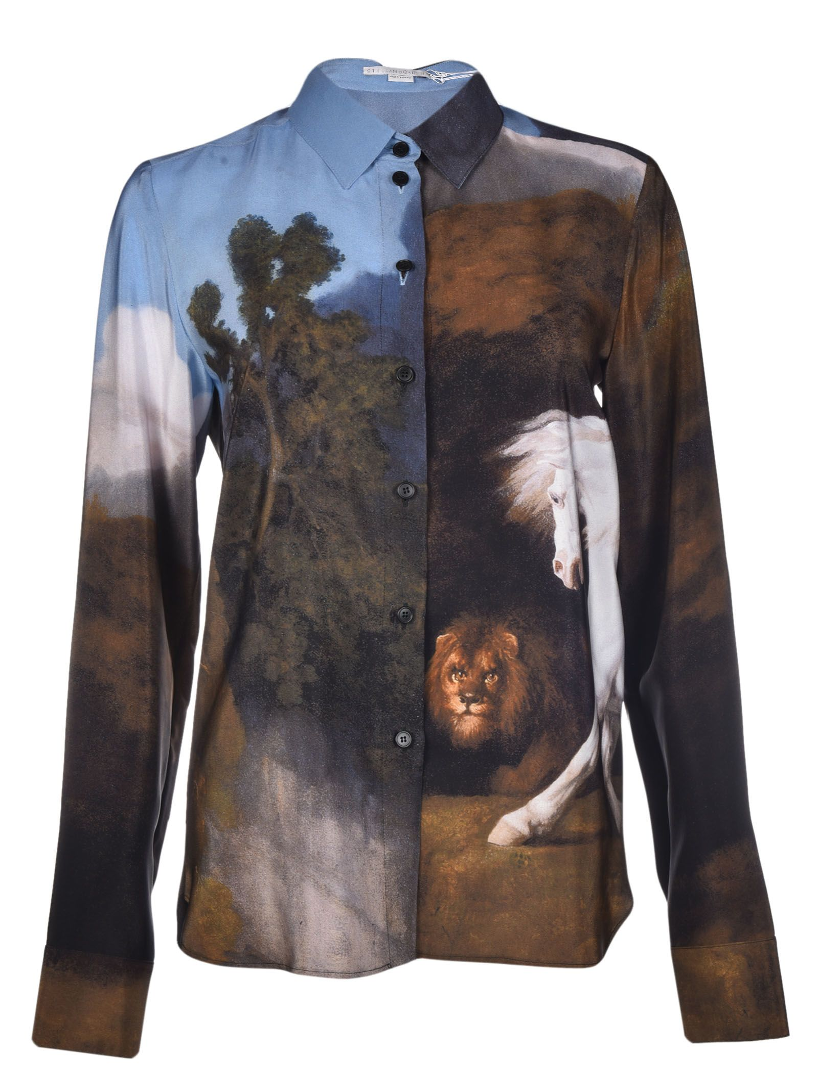 Stella McCartney Landscape Printed Shirt