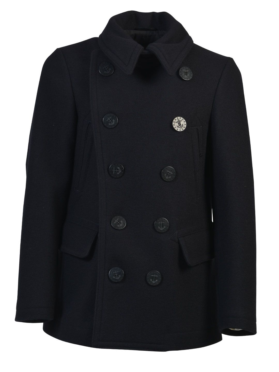 Dsquared2 Wool Peacoat